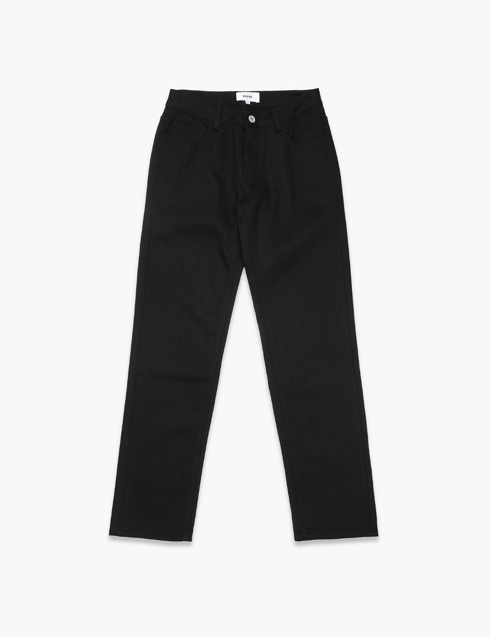 RELAXED SKINNY (WASHED BLACK)