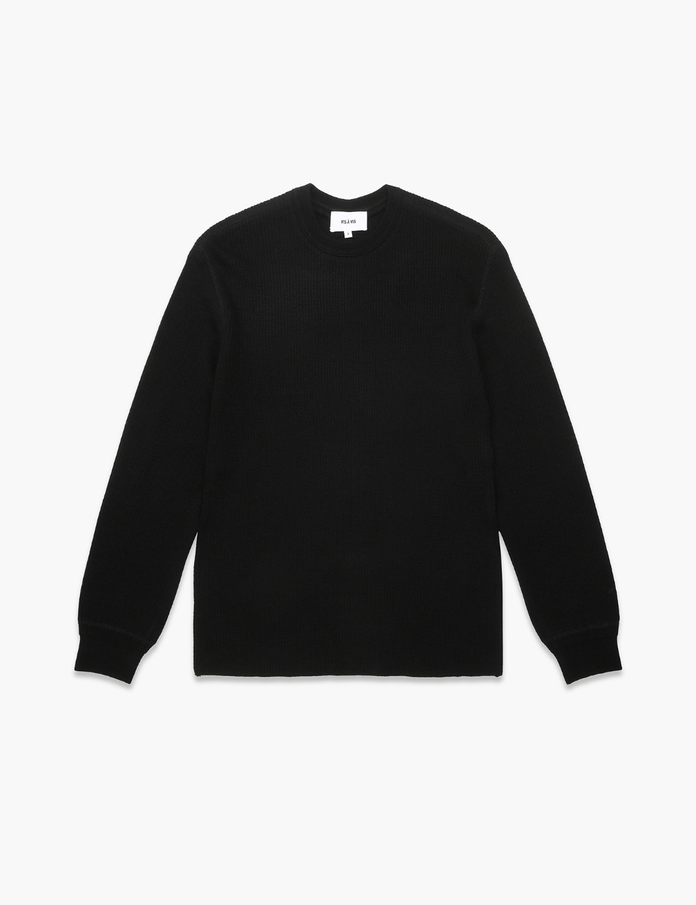 LS WOOL THERMAL TOP (BLACK)