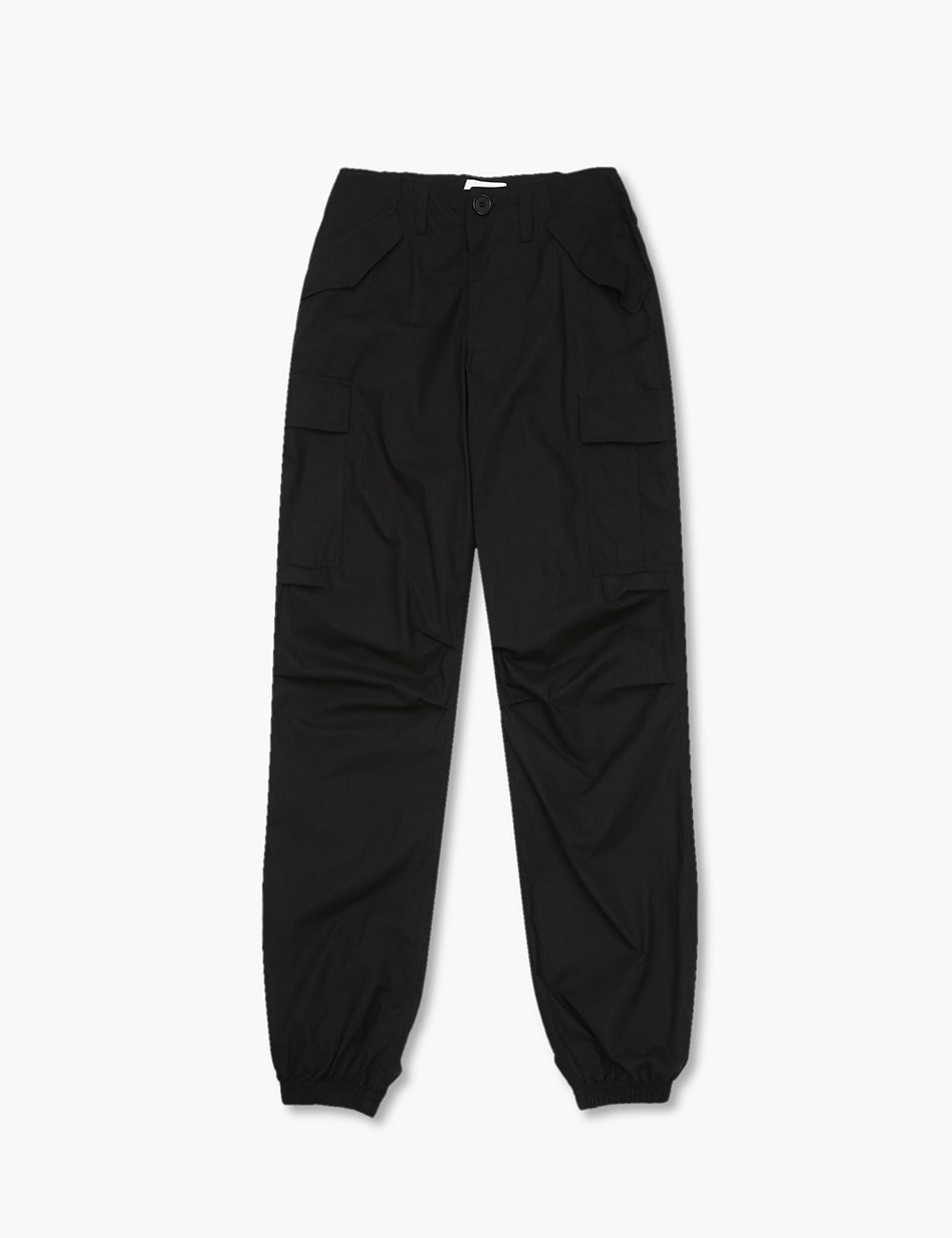 COTTON POPLIN M65 CARGO PANTS (BLACK)