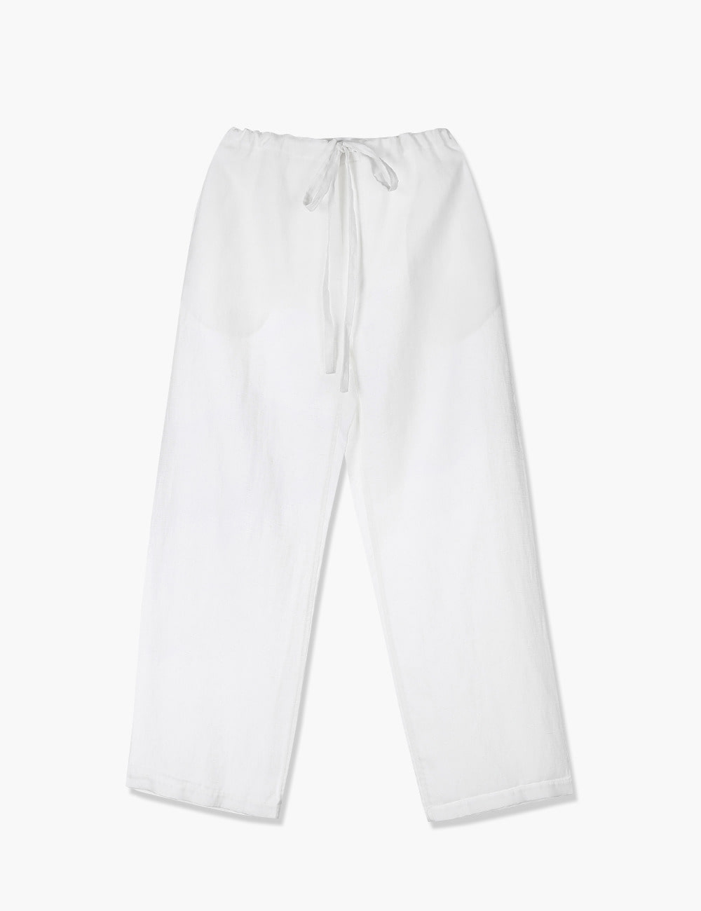 DRAWSTRING PANTS (WHITE)