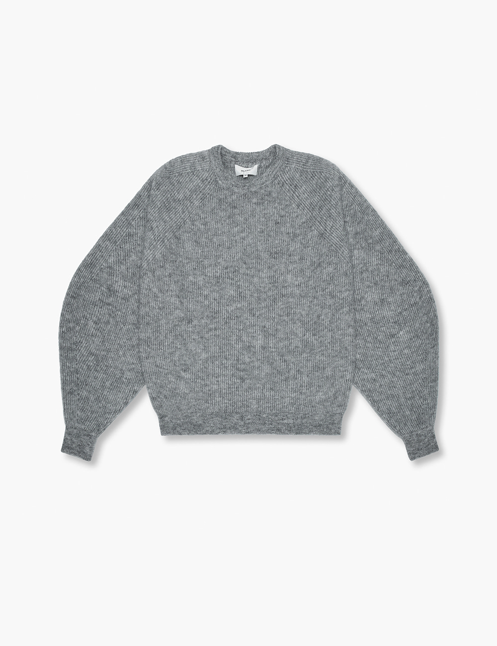 RAGLAN SWEATER (GRAY)