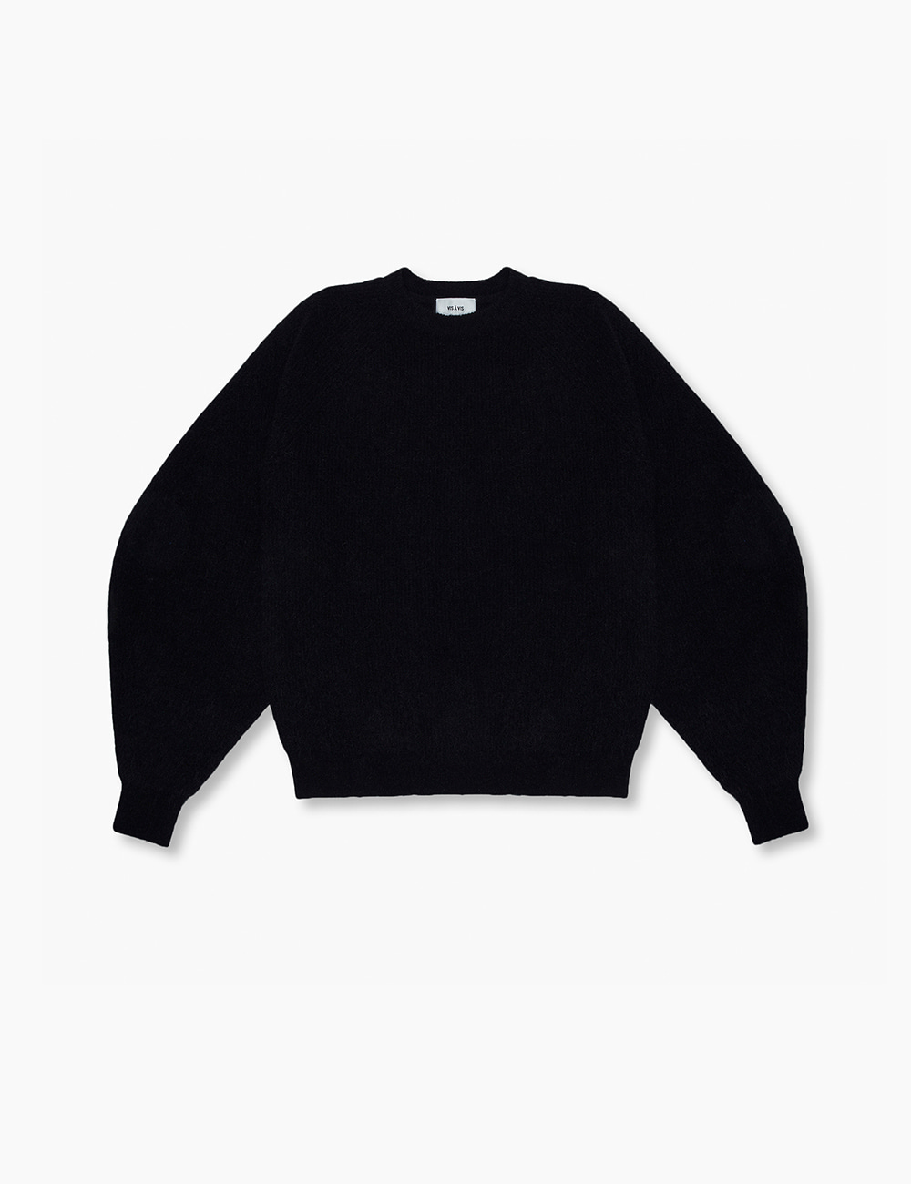 RAGLAN SWEATER (BLACK)