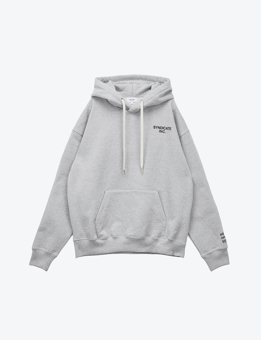 SYNDICATE UNISEX HOODED SWEATSHIRT (GRAY)