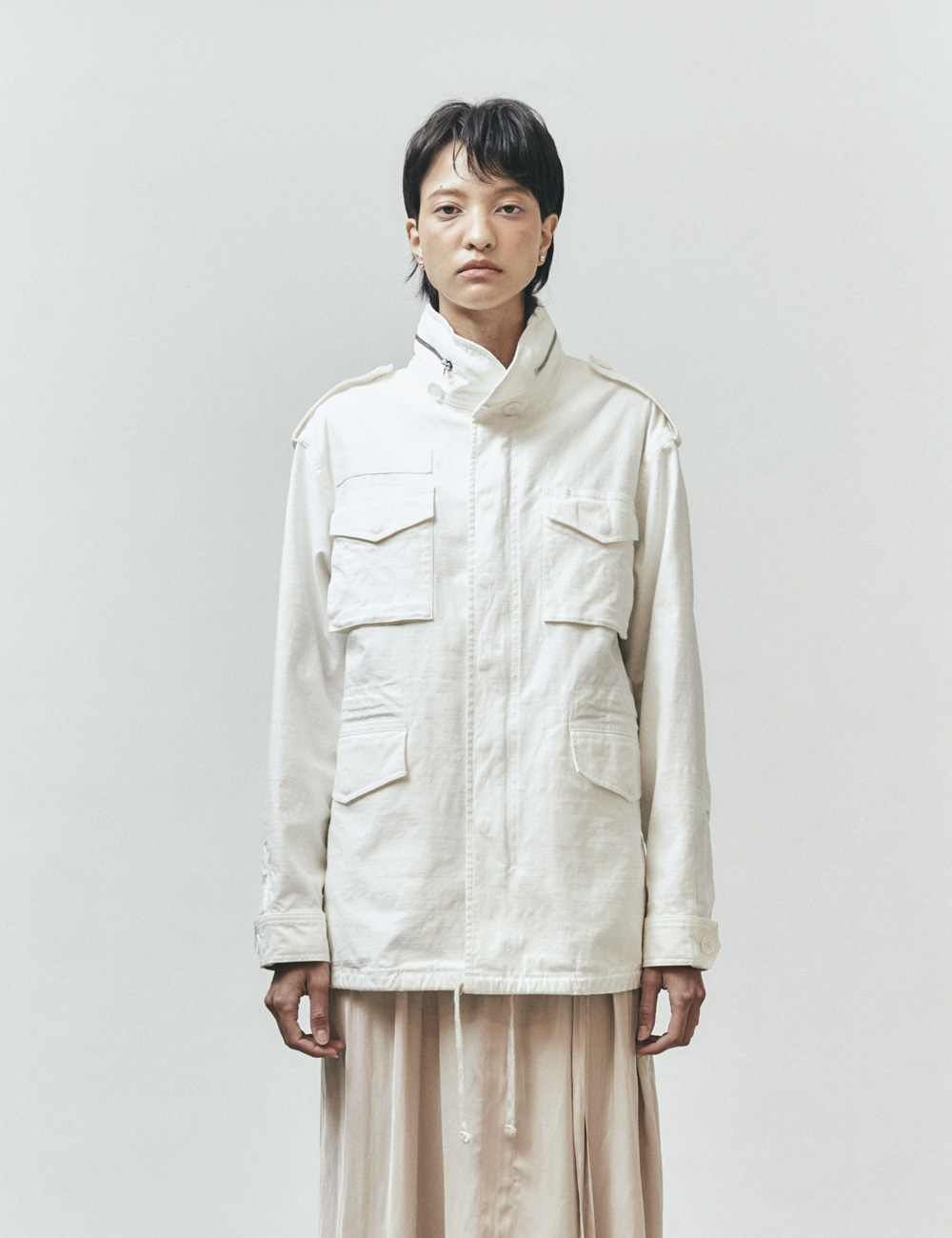 M-65 FIELD JACKET (WHITE)
