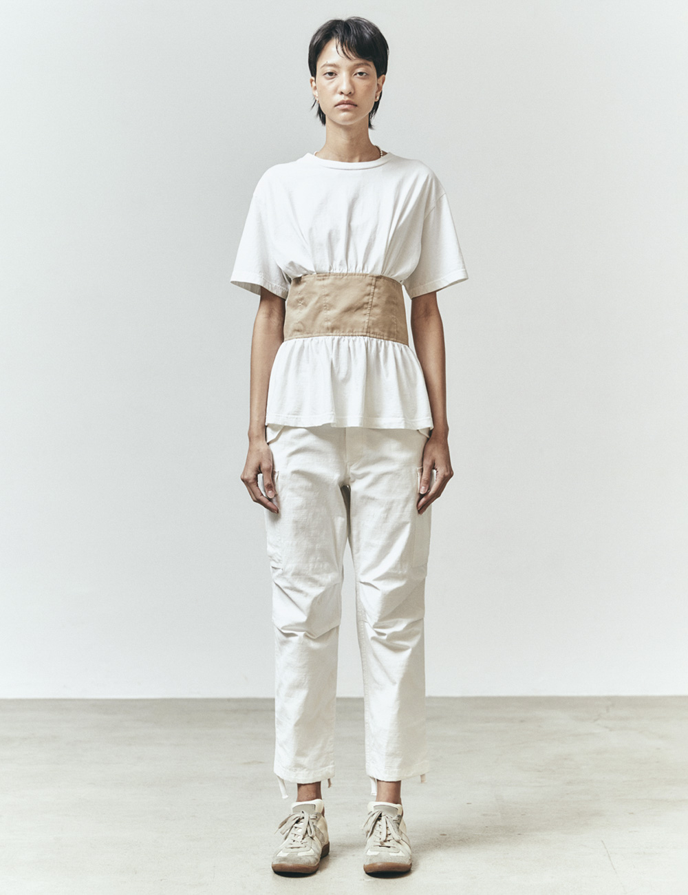 FIELD CARGO PANTS (WHITE)